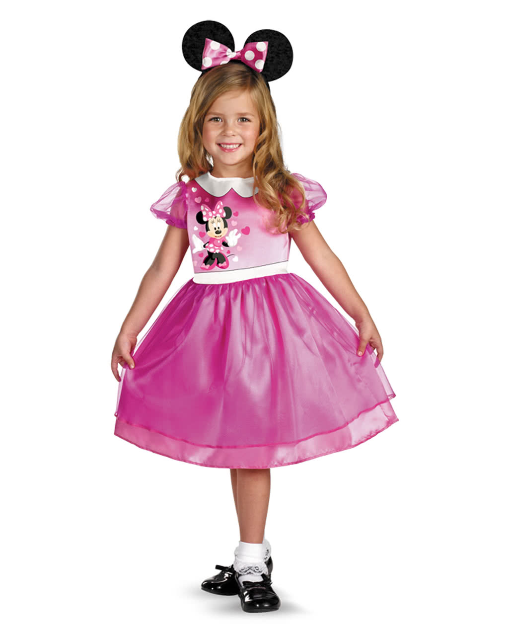 Minnie Mouse Costume Pink Toddlers Disney Childrens Costumes
