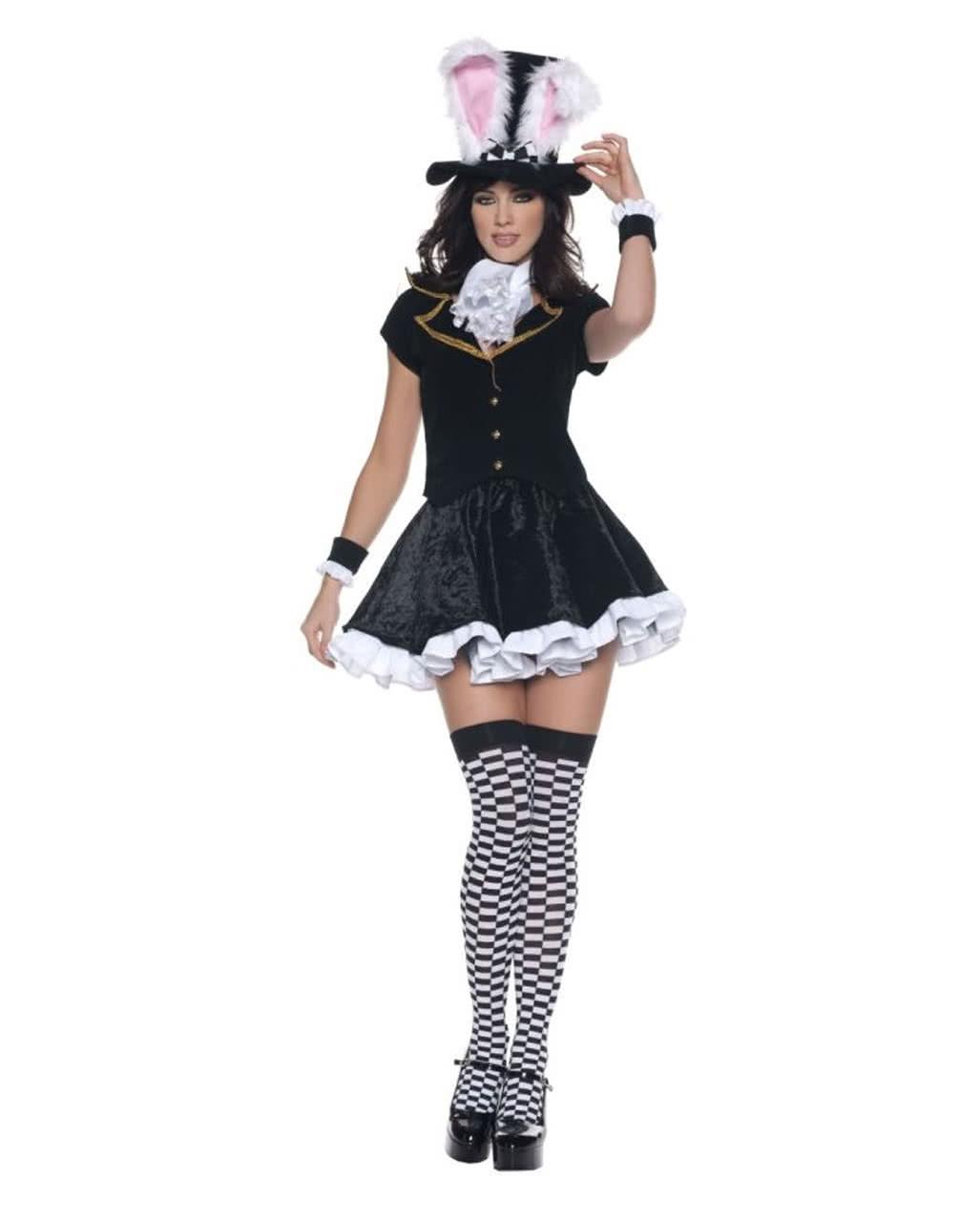 Hutmacher Bunny Premium Kostum Gr L Alice Im Wunderland Kostum