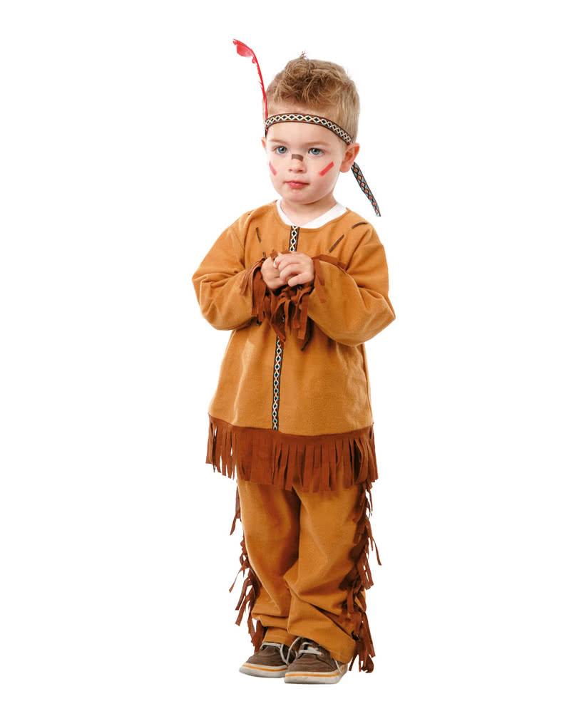 Indianer Kleinkinderkostum Fur Fasching Horror Shop Com