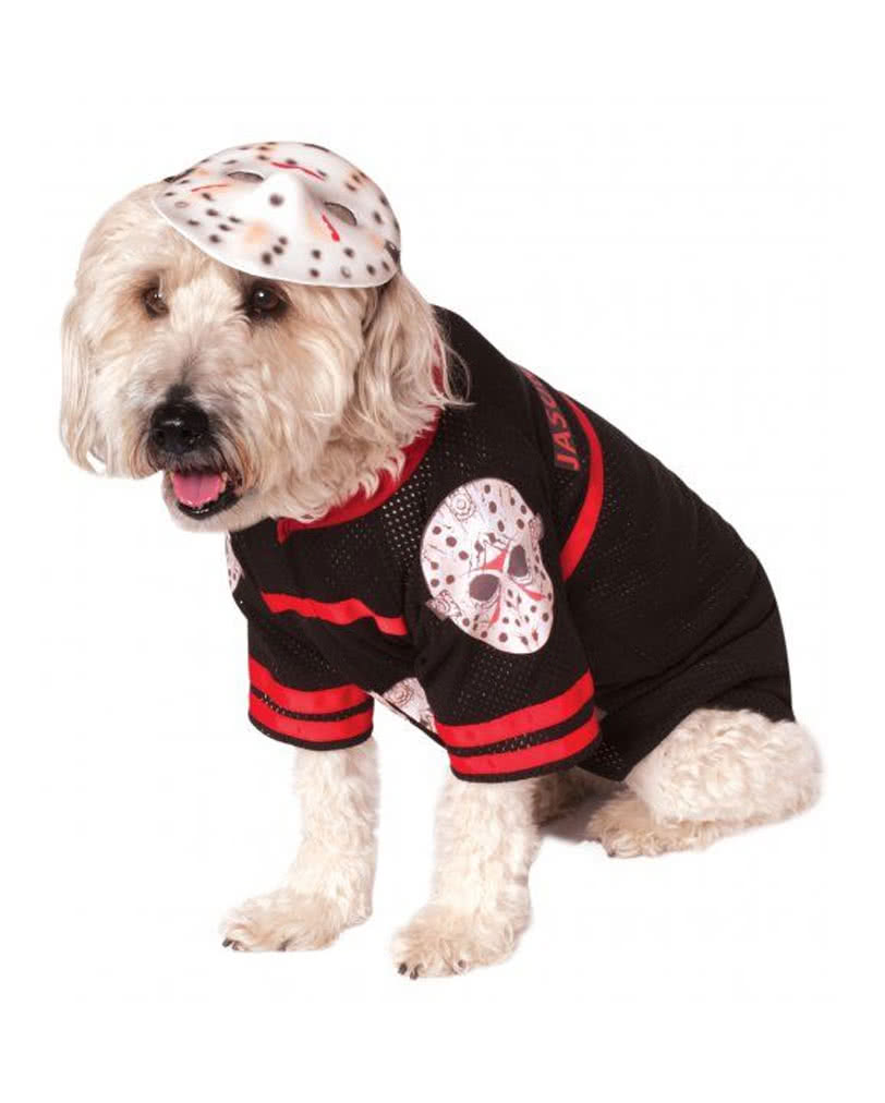Jason Voorhees Dog Costume  sc 1 st  Horror-Shop.com & Jason Voorhees Dog Costume Buy Halloween Dog Costumes | horror-shop.com