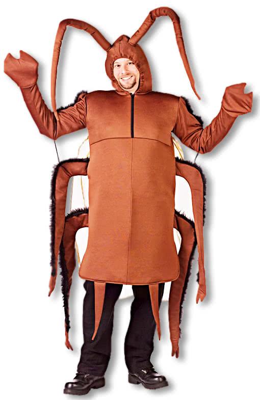 Cockroaches Costume One Size Kuchenschabe Costume Animal Costume