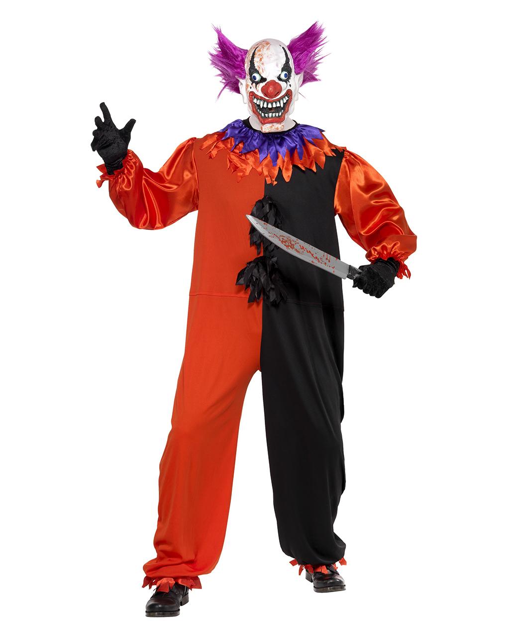Killer Clown Costume Bo Bo L