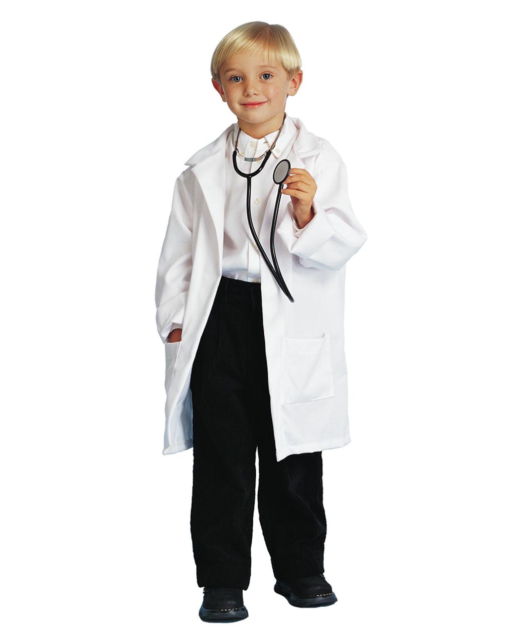 c10bae459371 Child Doctor Coat White -A White Lab Coat for Kids