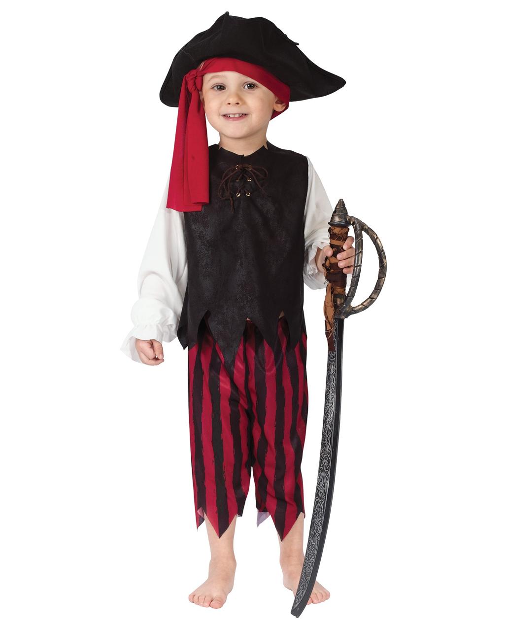 Kleiner Pirat Kleinkinder Kostum Fur Fasching Halloween Horror