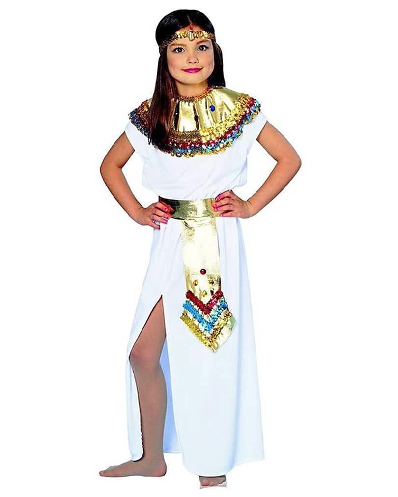 Cleopatra Child Costume  sc 1 st  Horror-Shop & Cleopatra Child Costume | Girls Nile Queen dress | horror-shop.com