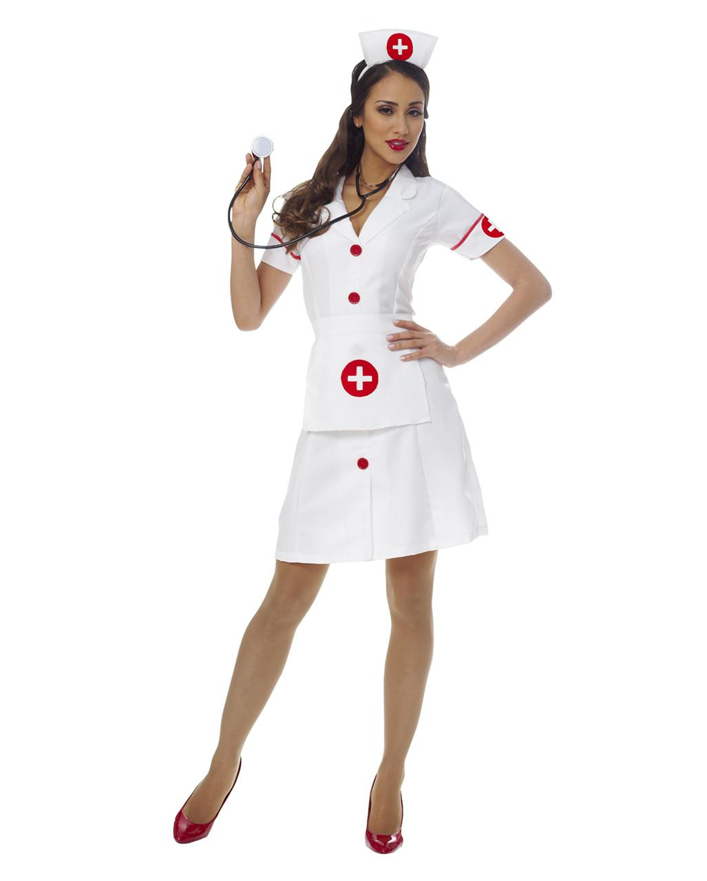 b2614f888e0a5 Classic Nurse Costume | Women's sexy nurse uniform | horror-shop.com