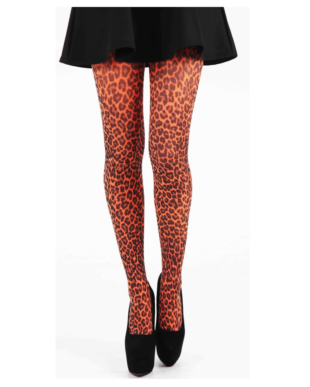 9e3728c75d8b Leopard print tights | Fashion Accessories | horror-shop.com