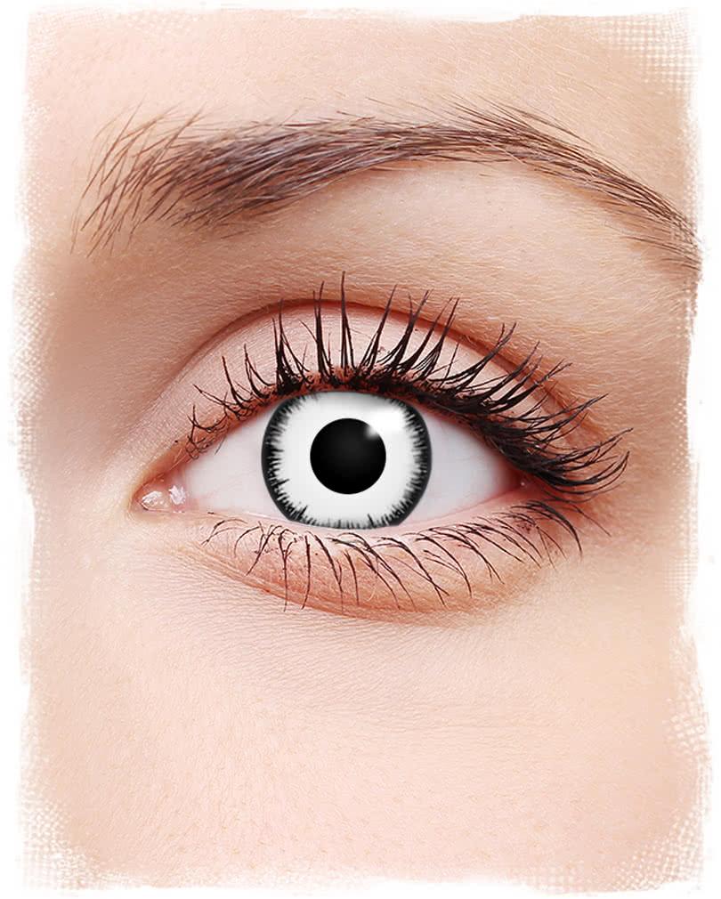 e204353398f Lunatic contact lenses white
