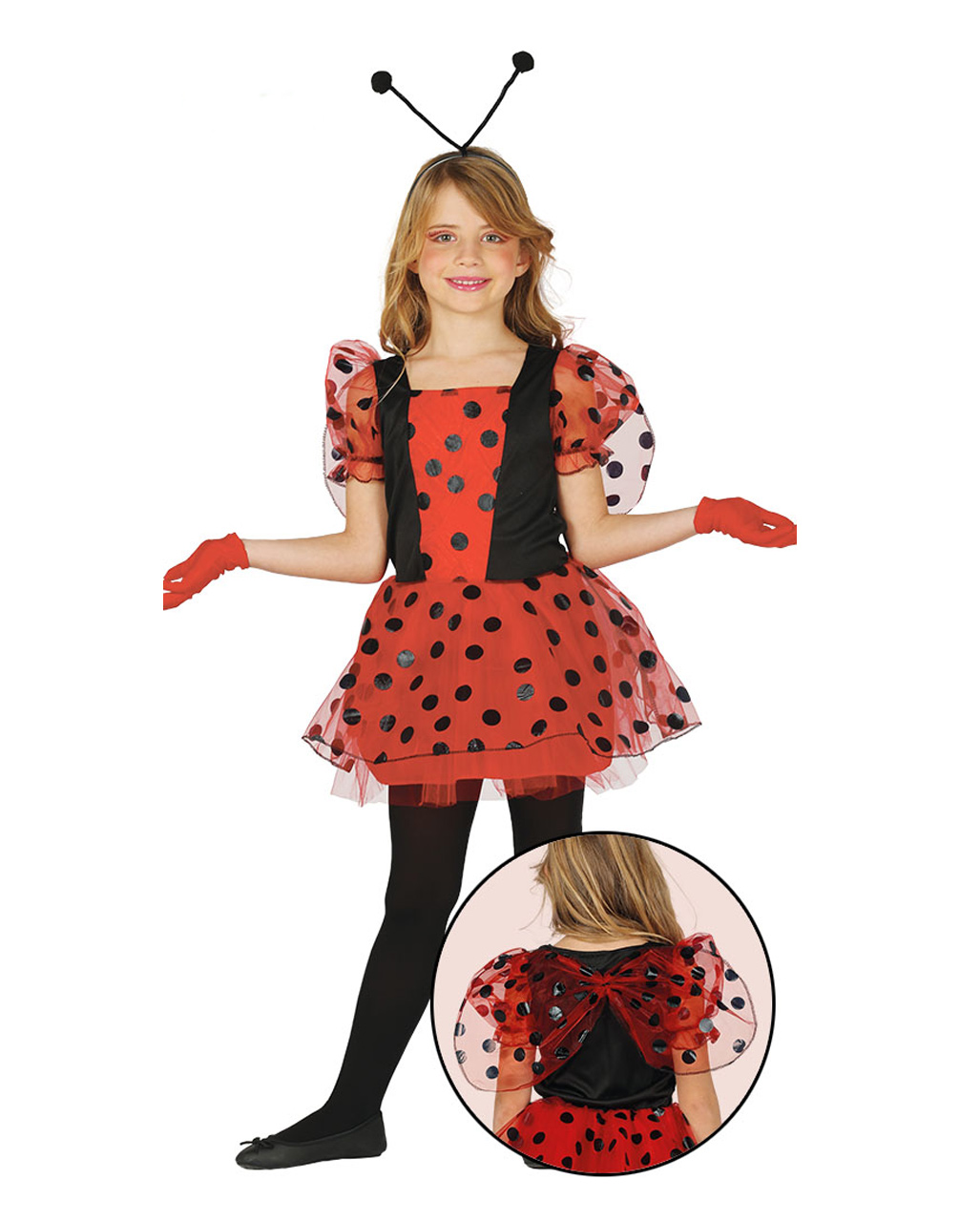 Marienkafer Fee Kinderkostum Fur Fasching Horror Shop Com