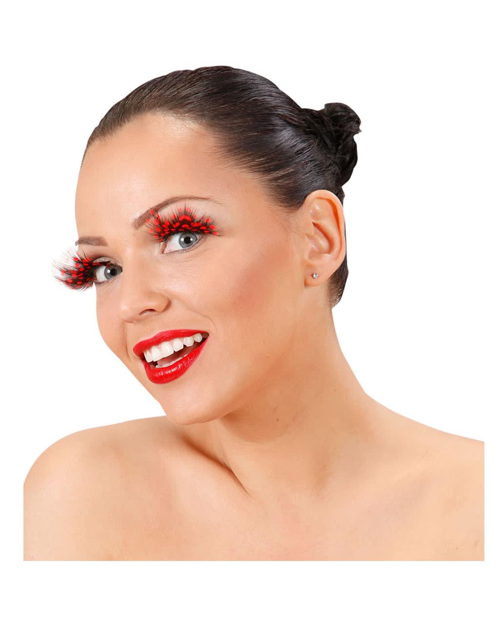 fcac133cd87 Ladybug eyelashes   Buy Eyelashes   horror-shop.com