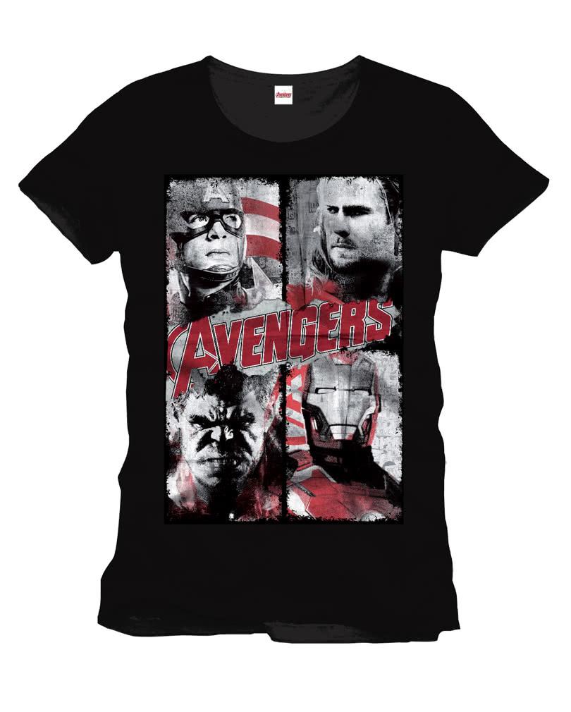 270c53b2 Marvel Comics Avengers T-Shirt   Superhelden t-shirt   horror-shop.com