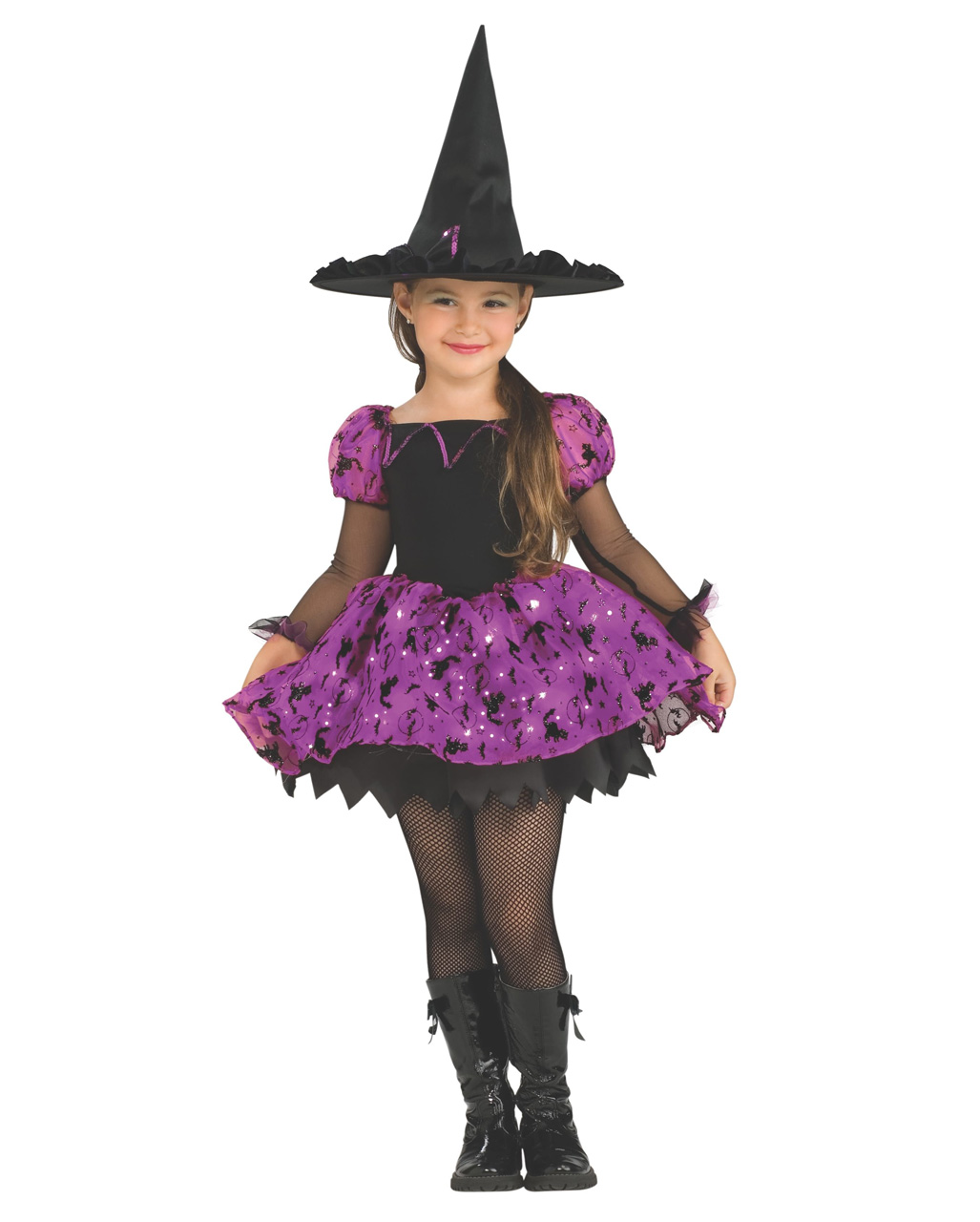 76368871881 Moonlight Witch Costume For Children
