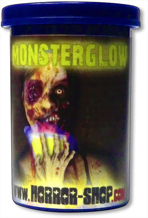 Monsterglow UV Luminous Food Color Halloween candies | horror-shop.com