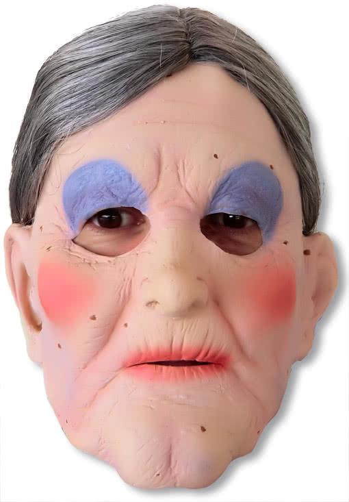 Oma Maske Berta Grossmutter Maske Alte Frau Maske Horror Shop Com