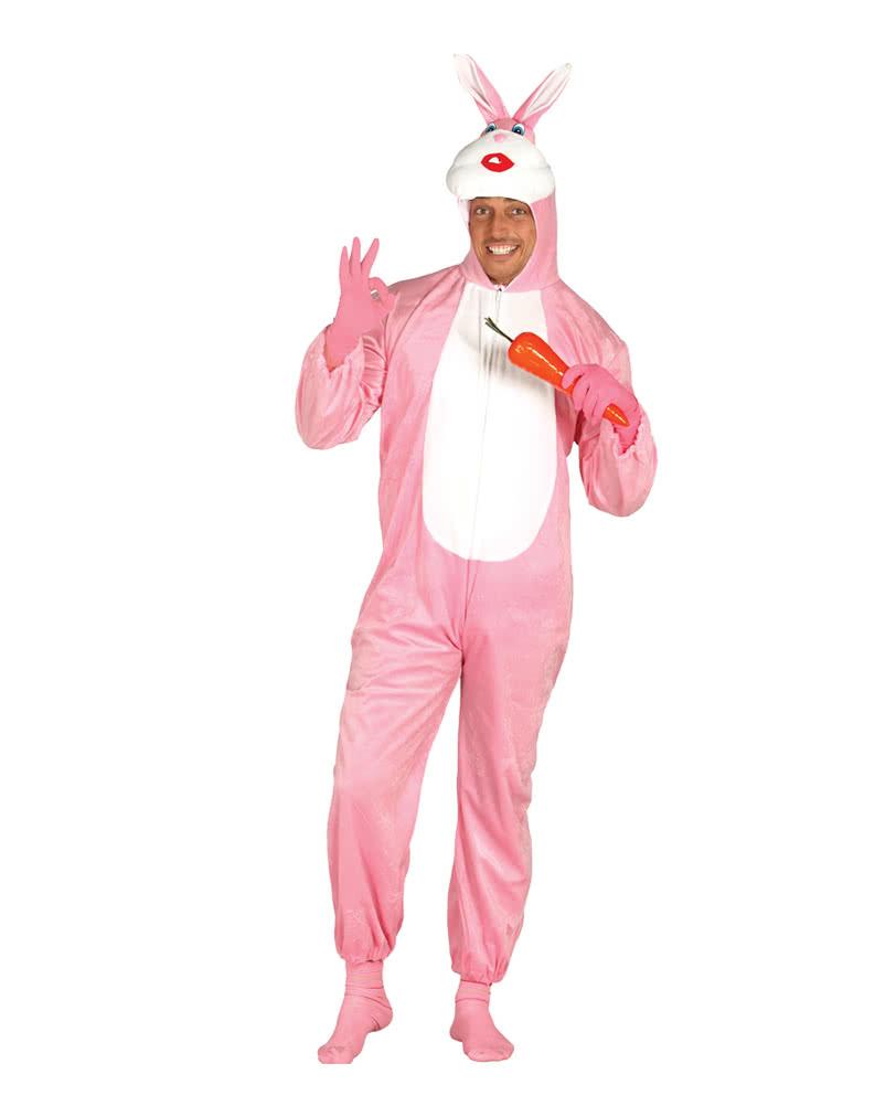 Pink rabbit costume   Rabbit costume as Partygag   horror-shop.com