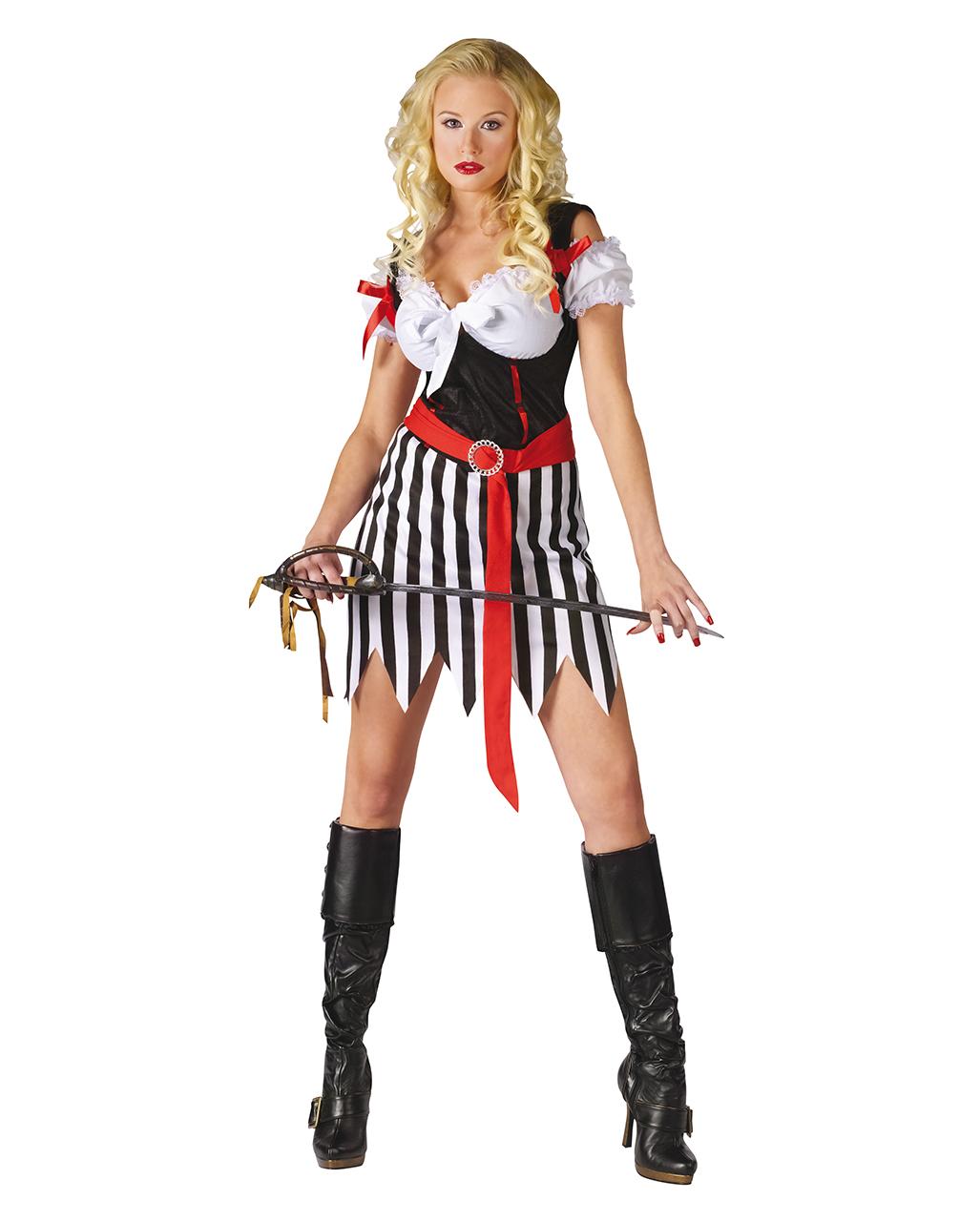 Piratenbraut Kostum M L Piratenlady Kostum Fur Karneval Horror