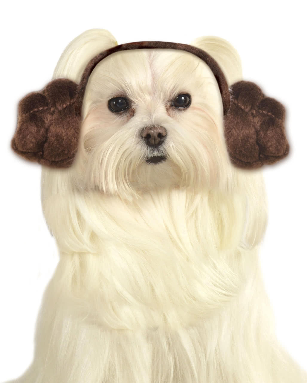 sc 1 st  Horror-Shop.com & Princess Leia Dog Frisur As a dog costume | horror-shop.com