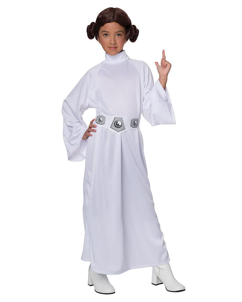 Prinzessin Leia Kinderkostum Star Wars Kostum Fur Madchen Horror