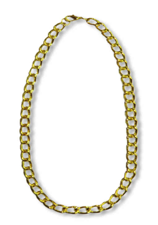Fette goldkette  Prolo Kette gold -Modeschmuck für Rapper und Hip Hopper | Horror ...