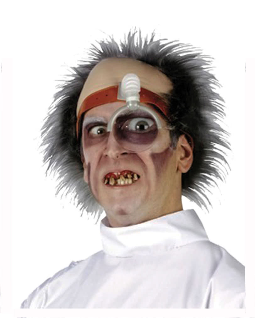 Psycho Doktor Perucke Lustige Faschings Perucken Horror Shop Com