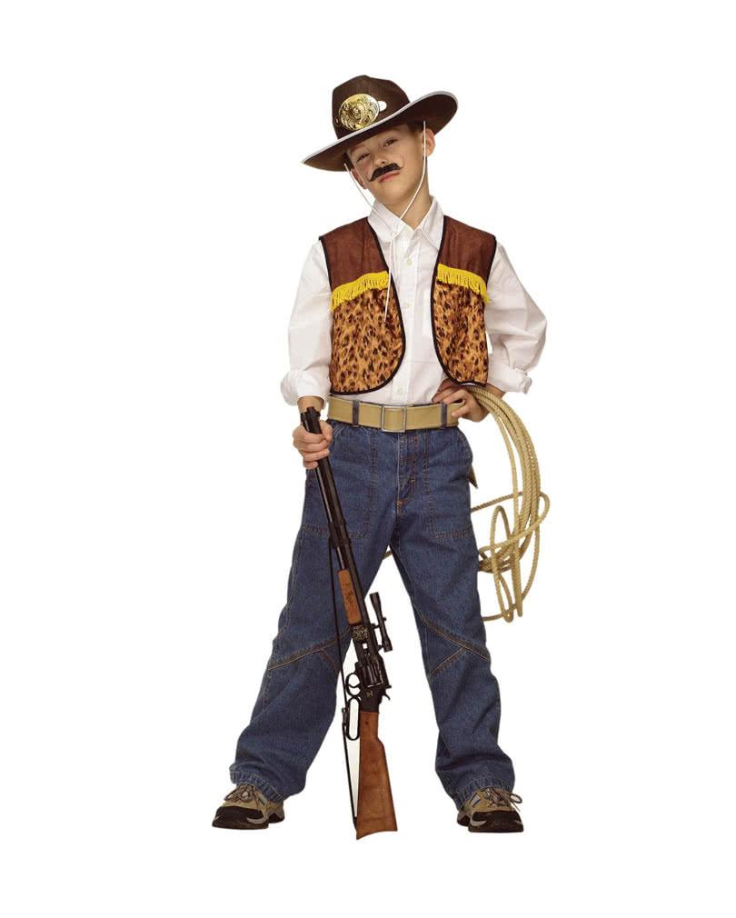 e78a7cca0 Cowboy Child Vest   Boy's western ranger waistcoat   horror-shop.com