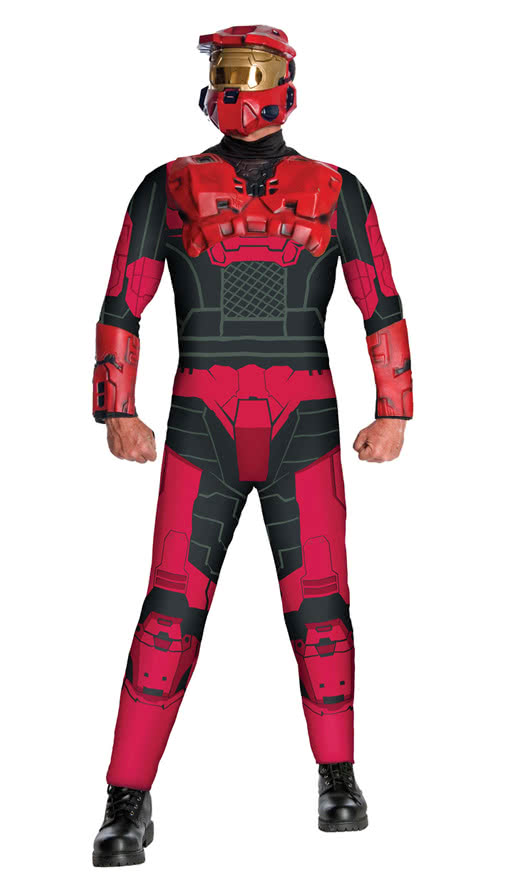Red Spartan Costume | wide range of Halo costumes | horror-shop.com