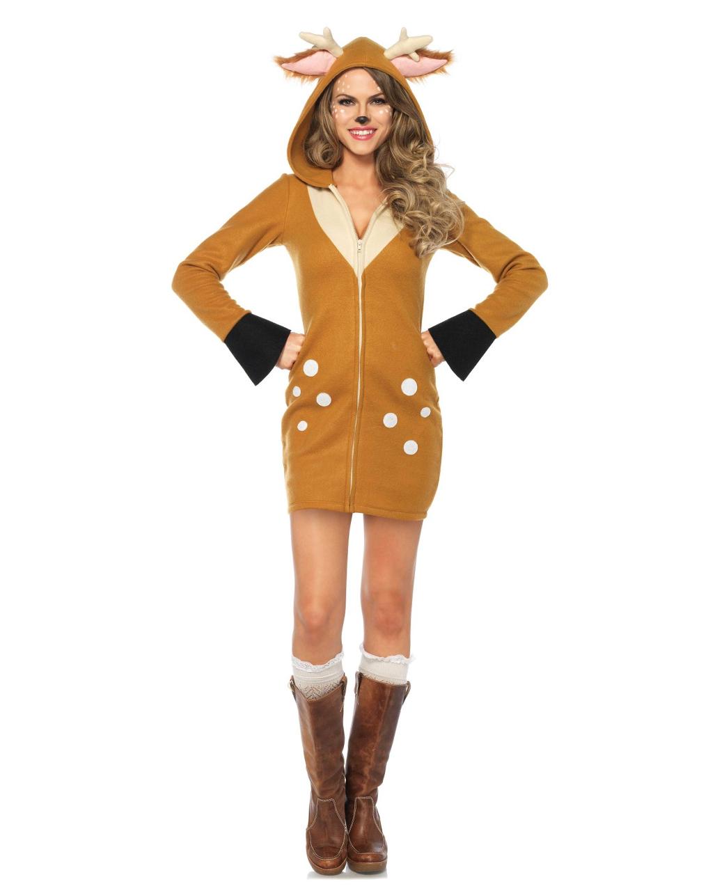 7e714c93ba203 Rehkitz Ladies Costume Bambi Costume