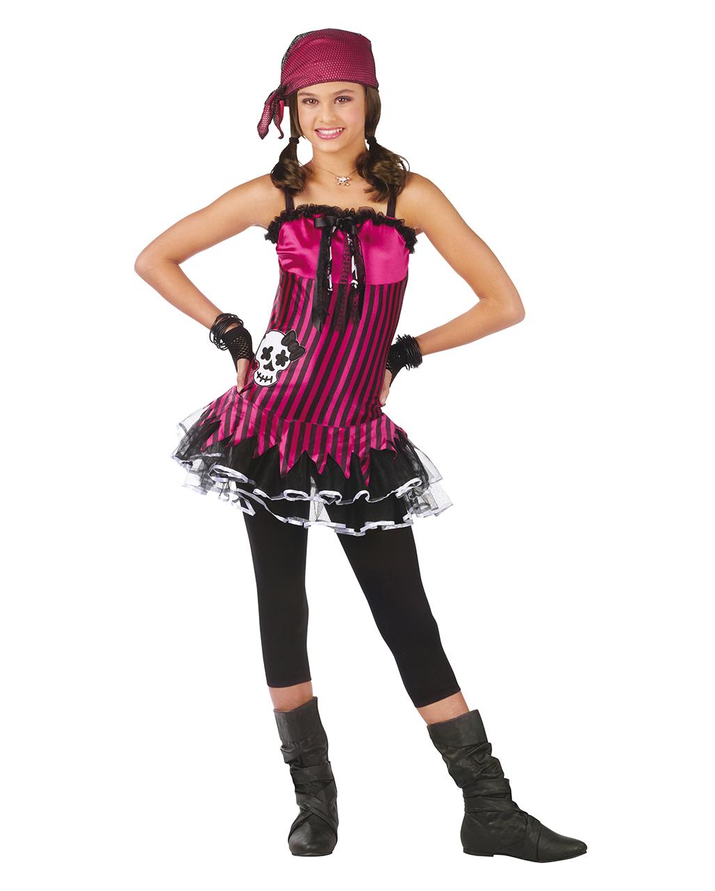 Rocking Skull Seerauberin Kostum Piratin Kostum Horror Shop Com