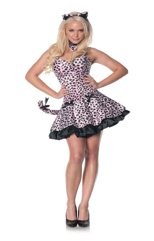 Rosa Kleid In XlMinikleid Leoparden Übergröße 7vyI6Ygbmf