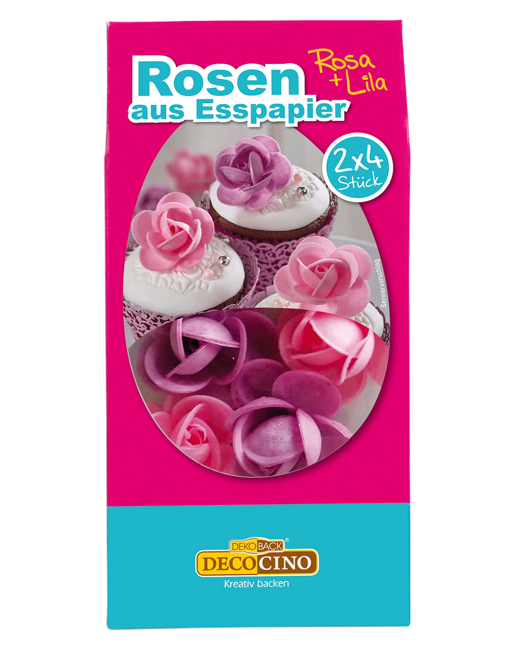 Rosen Aus Esspapier Rosa Lila 2 X 4 Stuck Horror Shop Com