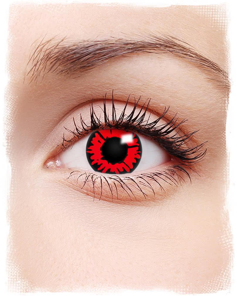 lenses contact Black eye