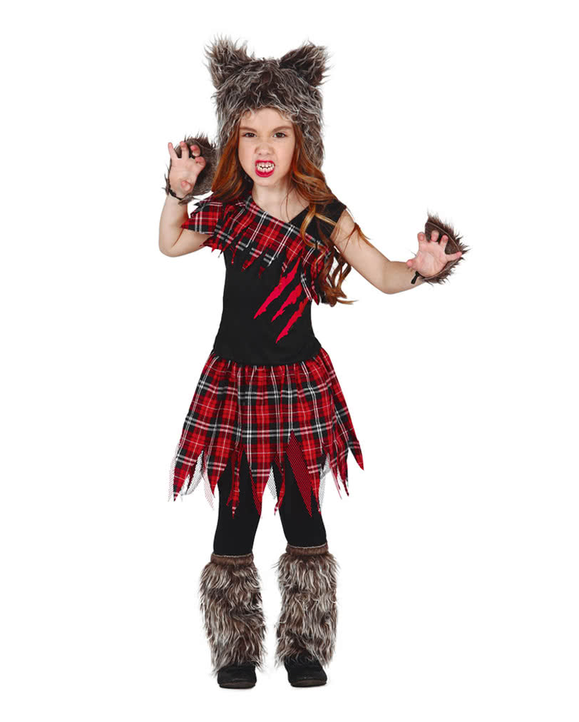 Scottish Wolf Girl Child Costume | Creepy Halloween costume for girls | horror-shop.com  sc 1 st  Horror-Shop.com & Scottish Wolf Girl Child Costume | Creepy Halloween costume for ...