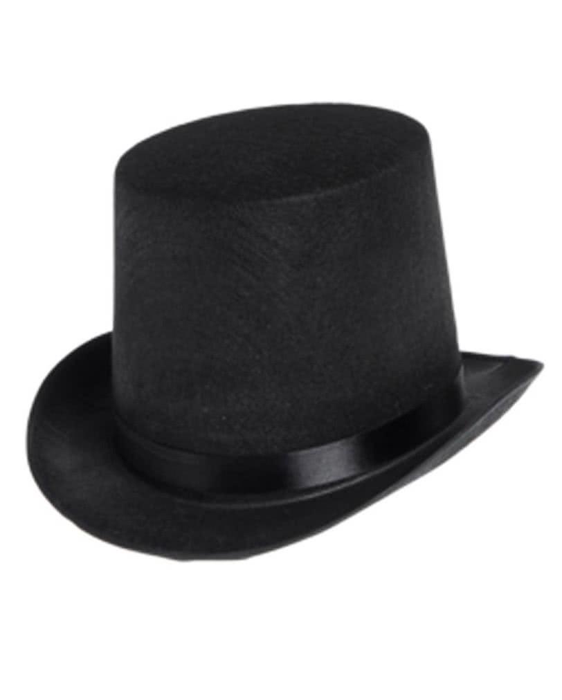 Zylinder Hut Schwarz Schwarzer Hut Fur Gentlemen Horror Shop Com