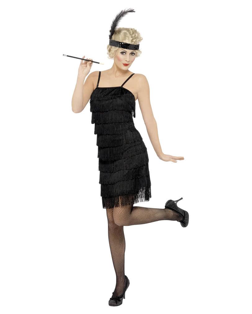 Charleston Kleid mit Stirnband Plus Size für die 20er Jahre ...