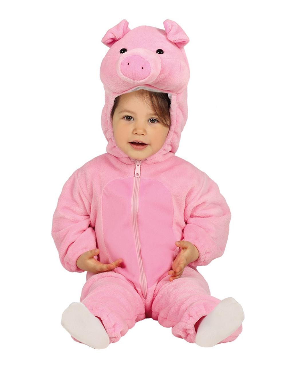 Schweinchen Baby Kostum Fur Karneval Horror Shop Com