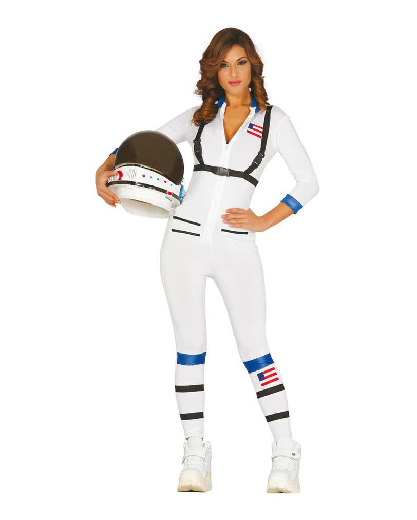 sc 1 st  Horror-Shop.com & Sexy Astronaut Costume | Opaque overalls for women | horror-shop.com