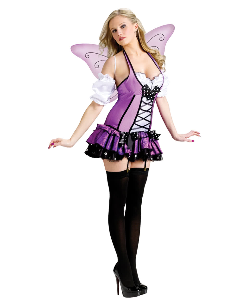 Purple fairy costume  sc 1 st  Horror-Shop : cheap fairy costumes for adults  - Germanpascual.Com