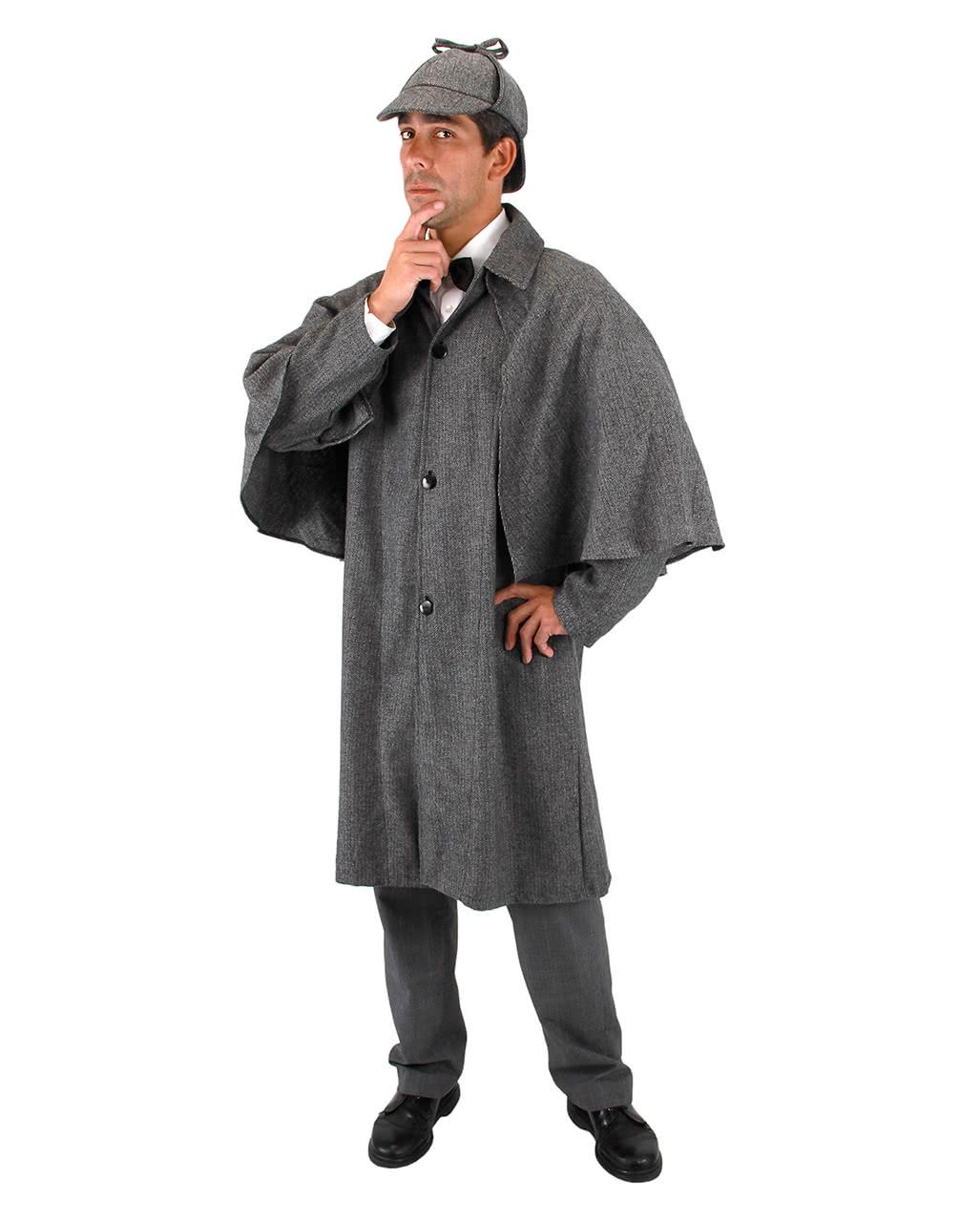 Sherlock Holmes Detektiv Kostümmantel als Halloween Kostüm | Horror ...