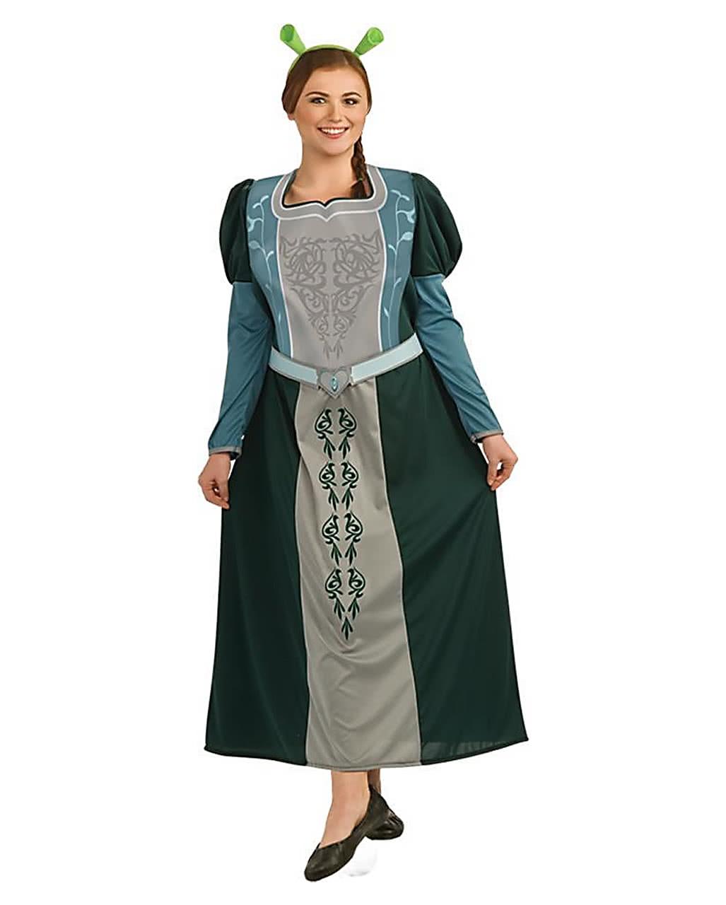 sc 1 st  Horror-Shop.com & Princess Fiona Costume Plus Size For Halloween | horror-shop.com