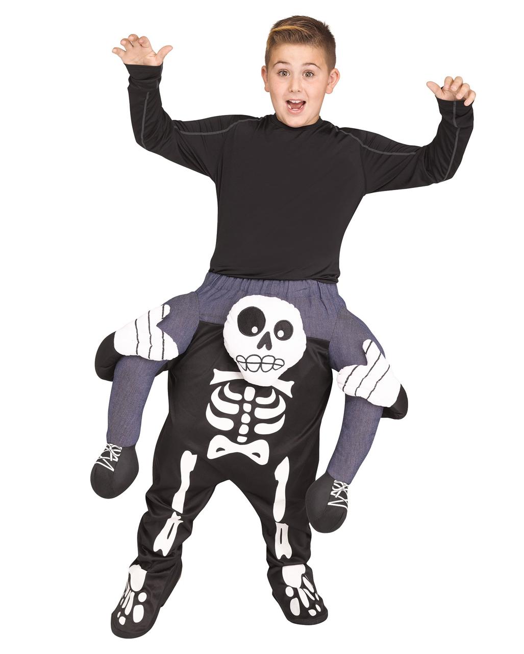 d92e371c4c11 Skeleton piggyback kids costume buy online