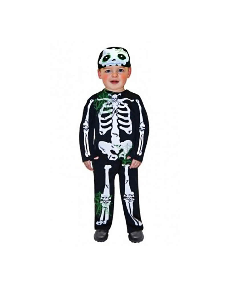 Skeleton Costume Toddler  sc 1 st  Horror-Shop.com & Skeleton Costume Toddler Cute Halloween Kids Costumes | horror-shop.com