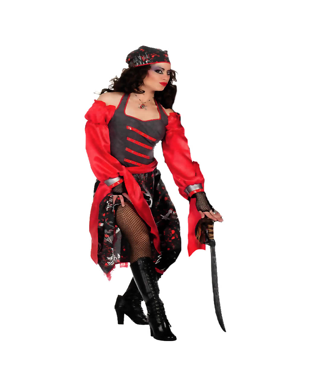 a46a67cb2ec Skull Pirate Woman Costume Plus Size to order