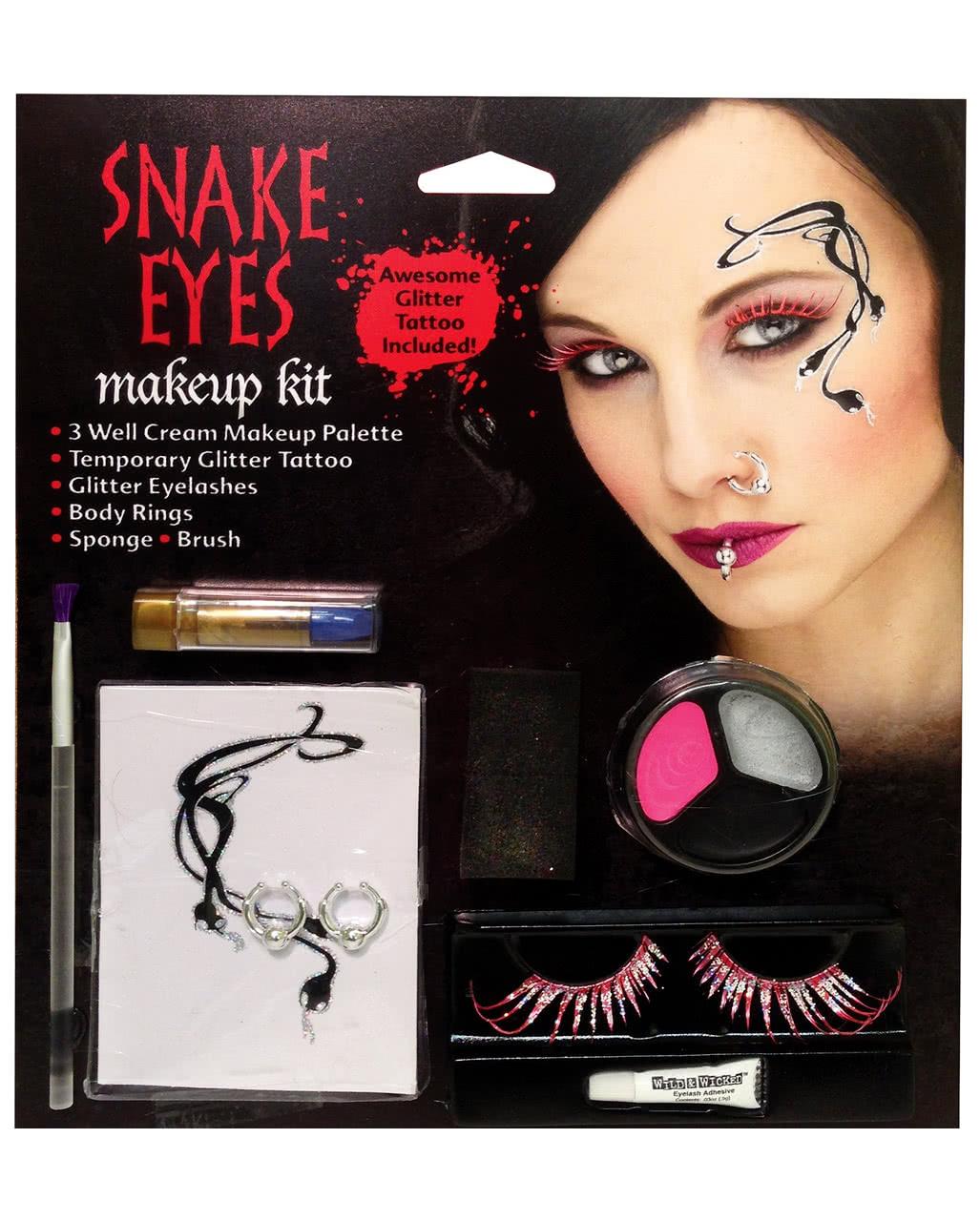 Snake Eyes Fairy Make Up Kit Stage Make Up Carnival Make Up Special