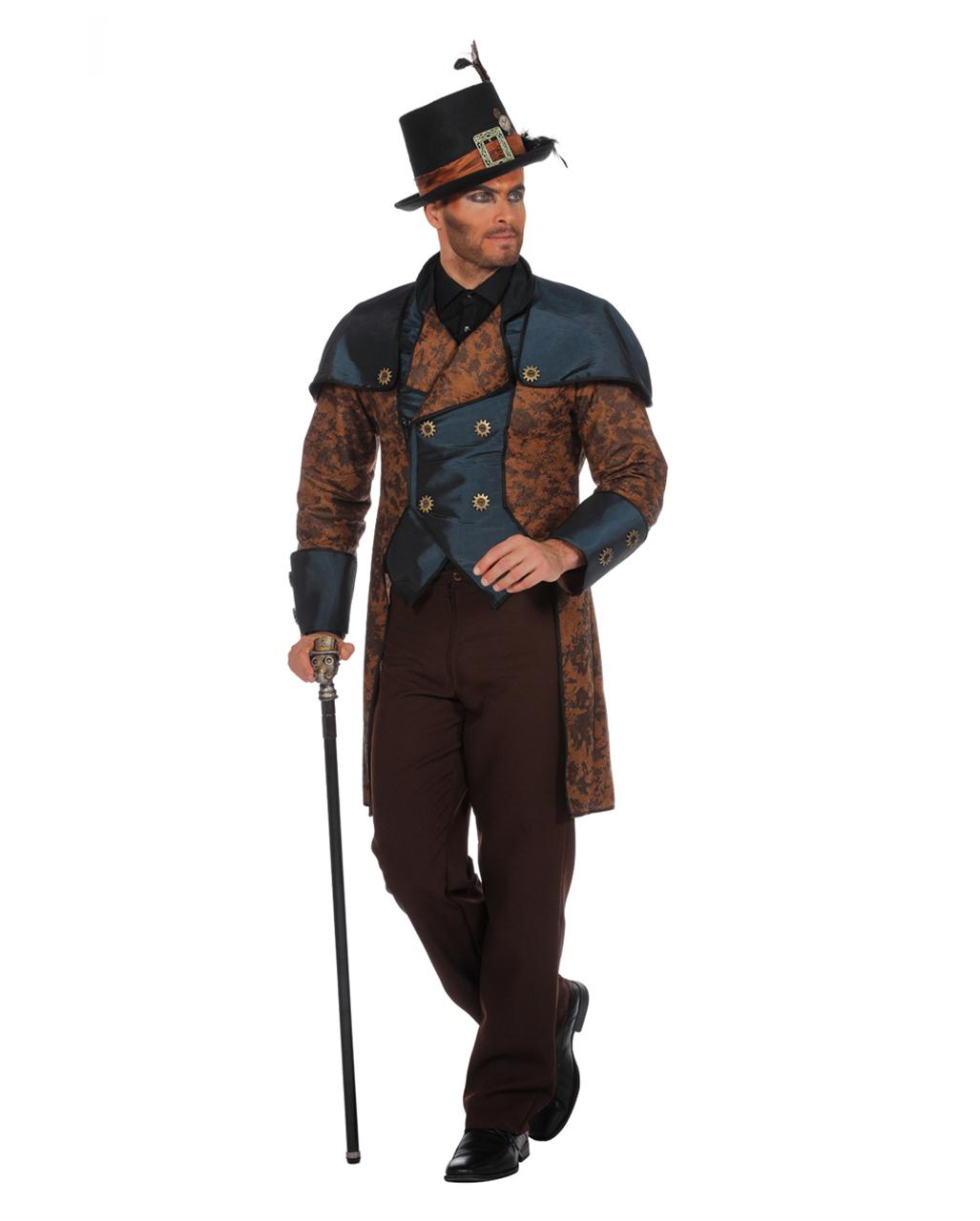 Steampunk Herren Kostüm Premium Hier Kaufen Horror Shopcom
