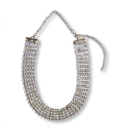 Modeschmuck strass collier