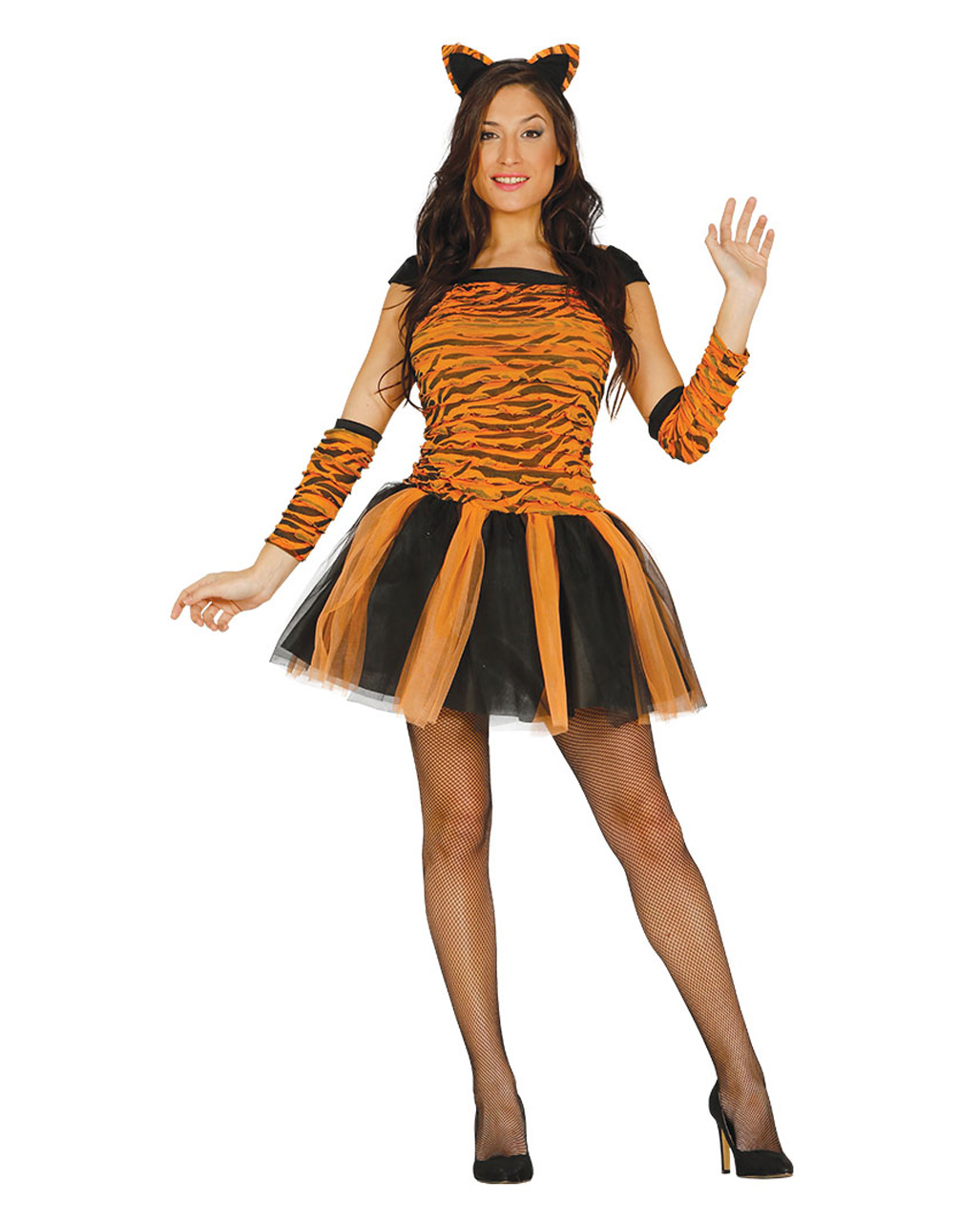Tiger Costume With Accessories ...  sc 1 st  Horror-Shop.com & Tiger Costume With Accessories ? Sexy carnival costume | horror ...