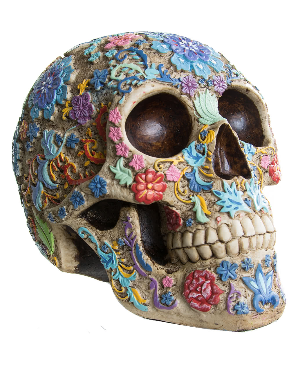 Attractive Skull and crossbones painted | Halloween decorations | horror-shop.com HC12