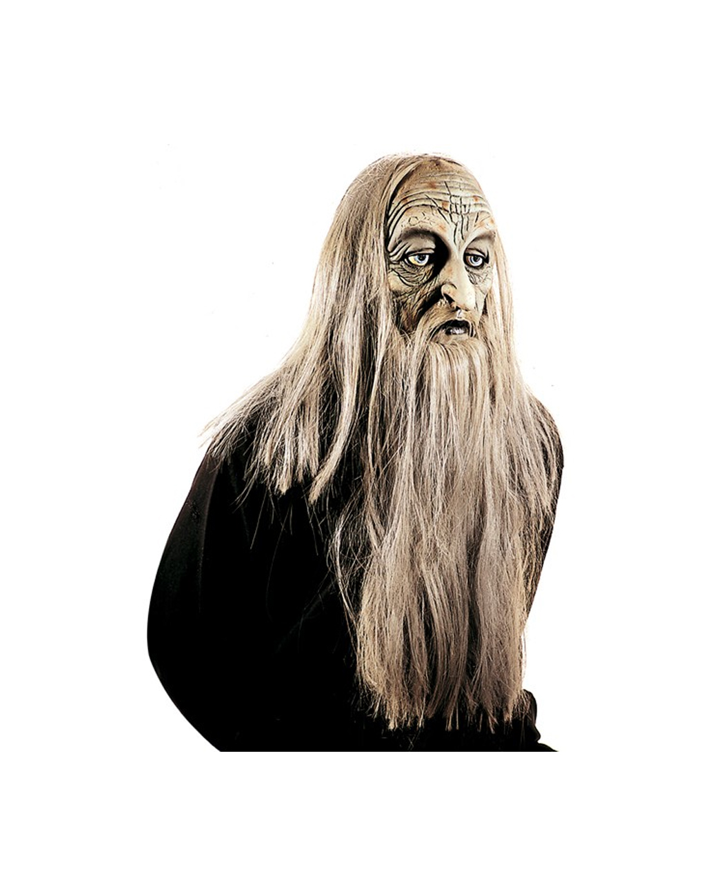 Troll mask Magiaz Latex mask with a long beard | horror-shop.com