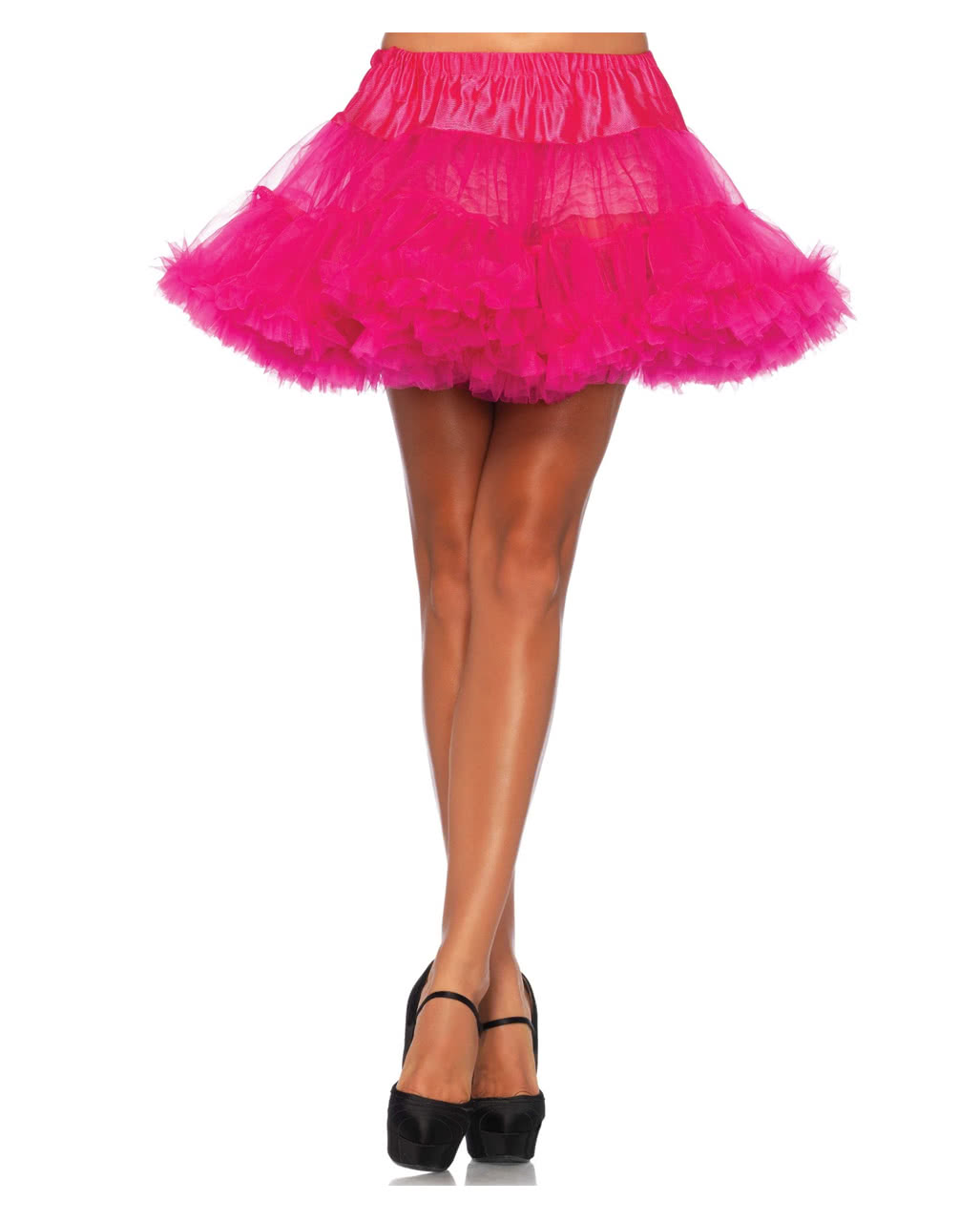 leg avenue petticoat pink for costumes horror shopcom - Halloween Petticoat