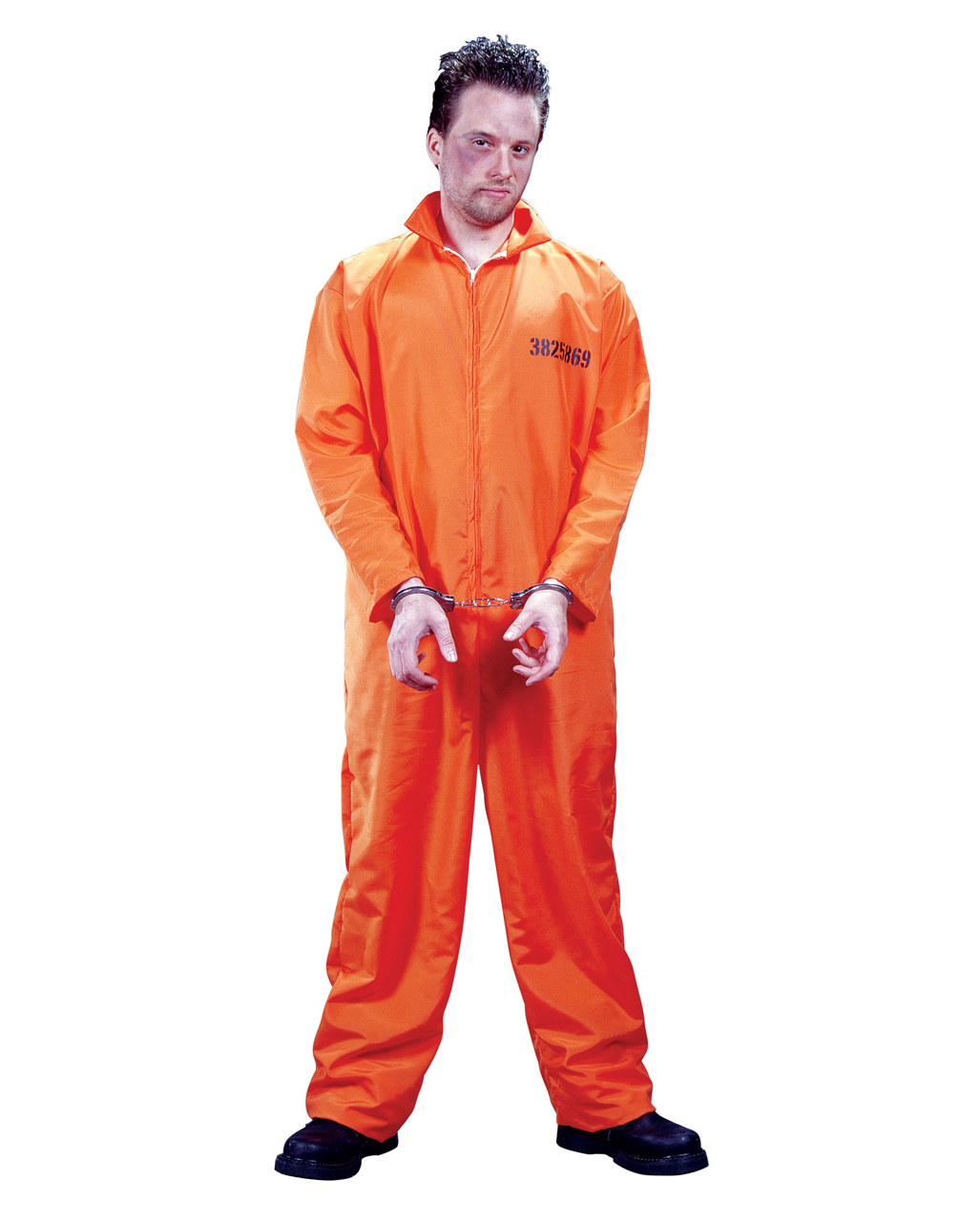 US Prisoner Costume  sc 1 st  Horror-Shop & US Prisoner Costume | Convict Costume prisoner jumpsuit ...